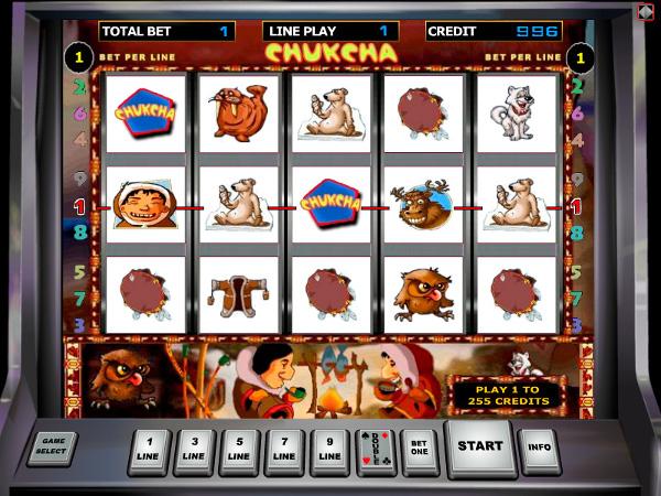 Игровой автомат Chukcha - для настоящих патриотов