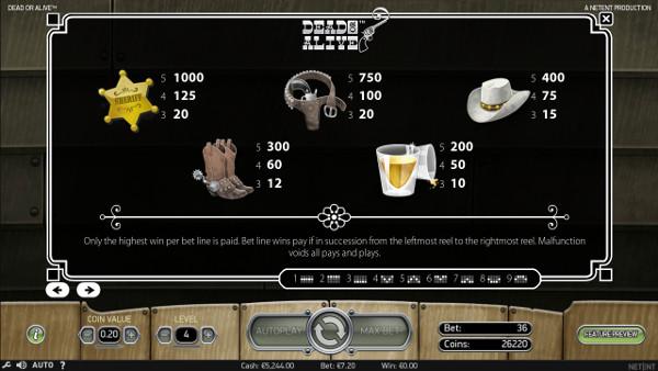 Игровой автомат Dead or Alive - играть в популярное Вулкан 24 казино