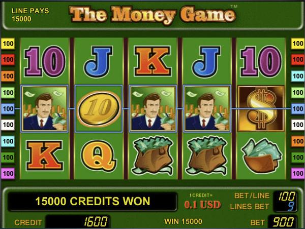 Игровой автомат The Money Game - для ценителей азарта