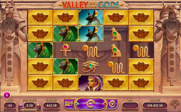Игровой автомат Valley of The Gods - в онлайн казино большой выбор слотов